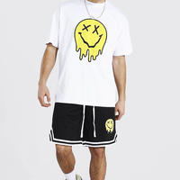 BOOHOO  /BIG Drip Face Tshirts(SET UP)