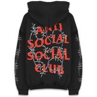 Anti Social Social Club/有刺鉄線 Logo フーディー BLACK