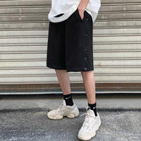 URKOOL/SNAP SHORTS BLACK