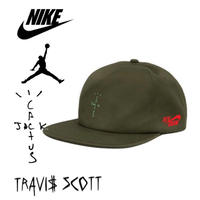 "Nike × Travis Scott /Cactus Jack JORDAN CAP ""OLIVE"""