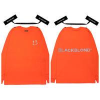 Black Blond/BB Smile LongSleeve Tshirts (ORANGE)