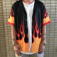 WOSS.official/ flame Aloha shirts