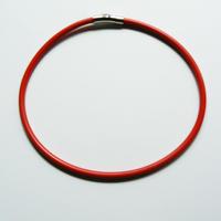 ネックレス Red(留め具:マグネット式シルバー)