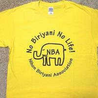 NBA ビリヤニTシャツ オフィシャル版