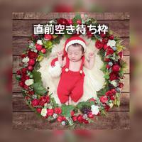 【11月予定日の方直前空き待ち枠】白雪姫風クリスマスリース