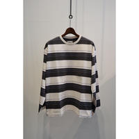 KIIT : BORDER LONG SLEEVE TEE