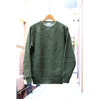 BRICK : SHAGGY CREW PULLOVER KNIT