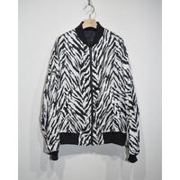 JOHN MASON SMITH : REVERSIBLE ZEBRA BLOUSON