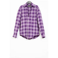 The Letters : WESTERN CUTTING SHIRT  - SCOTT CHECK FLANNEL -