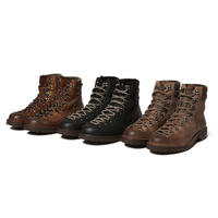 hobo : Cow Leather Trekking Boots