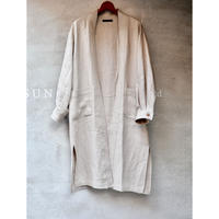 BIRTHDAY × JUHA EXCLUSIVE ITEM : HERRING BONE LINEN GOWN