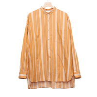 WELLDER : Band Collar Shirt