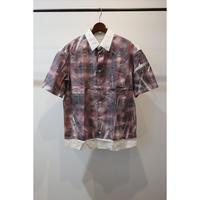 TONSURE : Oversize Short Sleeve Shirt