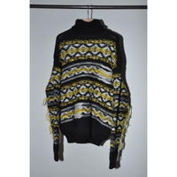 JOHN MASON SMITH : FAIR ISLE HIGH NECK KNIT