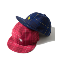 Name. : PLAID RAYON 5-PANEL CAP