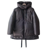 WELLDER : Extended Down Jacket  Inside Down & Feather