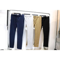 S.i.m :  WRAP TAPERED PANTS