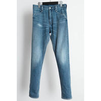 The Letters : Western Denim Pants - Used Washed -