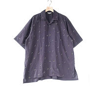 WELLDER : Short Sleeves Open Collar Shirt