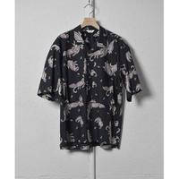 WELLDER : Utility Open Collar Half Sleeve Shirt