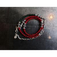 MEL.:2way Necklace (Antique Venetian glass)