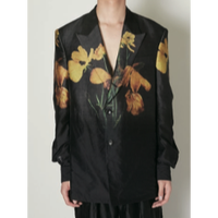 TAAKK : TUCK IN FLOWER JACKET