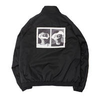 Name. : BACK PRINT ZIP BLOUSON