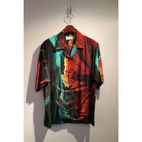 TAAKK : GOLD FISH & FLOWER SHIRT