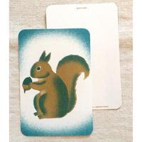 オリジナルポストカード・リス・2枚