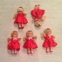 ARI赤いワンピの女の子mini863