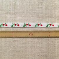 手芸テープ・赤い小花