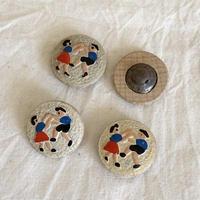 ボタン38・ダンス白