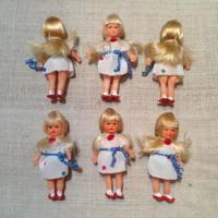 ARIカラフルドットドレスの女の子mini870