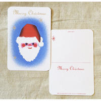 オリジナルポストカード・クリスマス(サンタ)・2枚