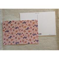 オリジナルポストカード・バンビと鳥・2枚