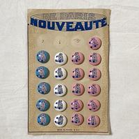 ボタン14・フランスのクマボタン