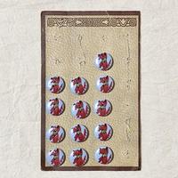 ボタン42・フランスの犬ボタン