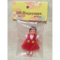 ARIドール女の子赤い吊りスカート825