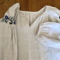 ウクライナ民族衣装21 (ブルー花)