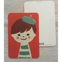 オリジナルポストカード・男の子・2枚