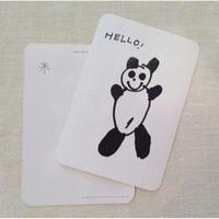 オリジナルポストカード・UGパンダ2枚