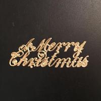 ドレスデントリム・メリークリスマスゴールド1枚入り