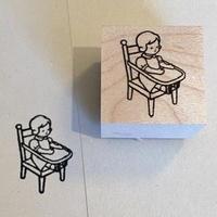 オリジナルスタンプ・お人形
