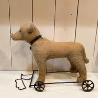 アンティークシュタイフ・Ride-on Dog