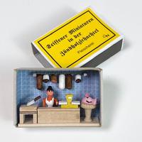 マッチ箱・お肉屋さん28046