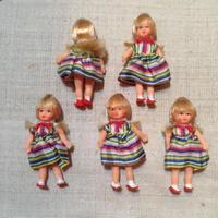 ARIカラフルストライプの女の子mini899
