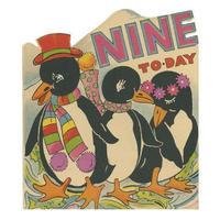 バースデーカード9 ペンギン