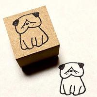 ねづねこスタンプ・ブサカワ犬