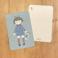 オリジナルポストカード・女の子B・2枚