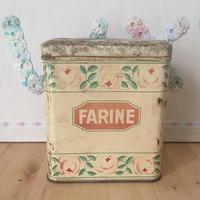 ショコラムニエ ローズティン缶 FARINE